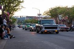 Pista do ` do carro D, feira automóvel clássica Imagens de Stock Royalty Free