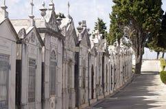Pista dos mausoléus, religião, morte, cemitério foto de stock royalty free