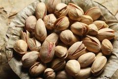 Pista-A droog fruit van berggebieden van het Midden-Oosten Stock Foto