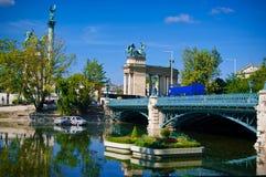 Pista em Budapest no verão Imagem de Stock Royalty Free