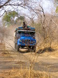 Pista en África imagenes de archivo