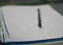 Pista en blanco Fotografía de archivo libre de regalías