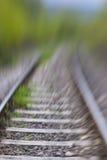 Pista ferroviaria Foto de archivo