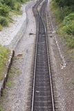 Pista ferroviaria imagen de archivo libre de regalías