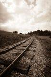 Pista ferroviaria Imagenes de archivo