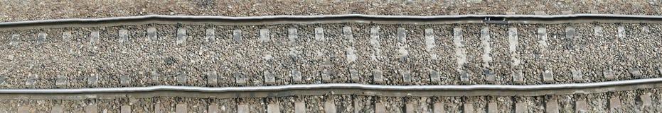 Pista ferroviaria, ejemplo de la cubierta Fotos de archivo