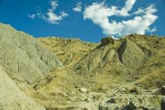 Pista in montagne Immagine Stock