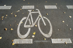 Pista para bicicletas Imagen de archivo