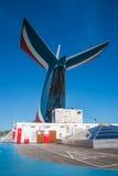Pista pareggiante sulla nave da crociera Fotografia Stock Libera da Diritti