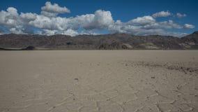 Pista Playa al lasso di tempo del parco nazionale di Death Valley stock footage