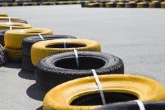 Pista que compite con para karting Imagen de archivo libre de regalías