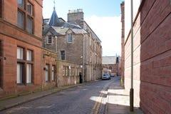 Pista real da troca em Dundee Escócia imagem de stock royalty free