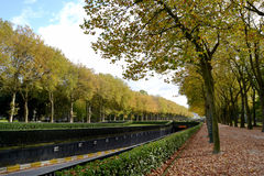 Pista sull'autunno immagini stock libere da diritti