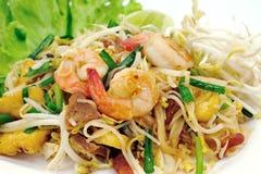 Pista tailandesa del alimento tailandesa Imágenes de archivo libres de regalías