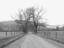 Pista Tennessee das faíscas Fotografia de Stock