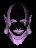 Pista violeta Foto de archivo