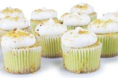 Pistache Cupcakes Stock Fotografie