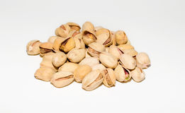 Pistachio. S on a white background Stock Photography