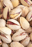 Pistachio. Group of pistachios, making approach royalty free stock image