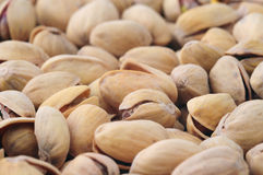 Pistachio. Close-up of pistachio, food background Royalty Free Stock Photography