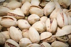 Pistachio background. More pistachios background Royalty Free Stock Photo