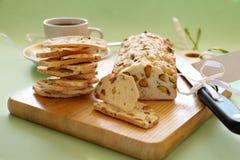 Pistachio Bread Stock Photos