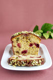 Pistachio cake Royalty Free Stock Photos
