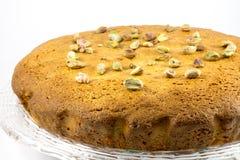 Pistachio cake Stock Photos
