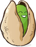 Pistachio Cartoon Character Royalty Free Stock Photo