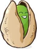 Pistachio Cartoon Character Royalty Free Stock Photo