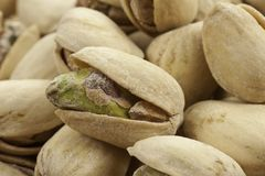 Pistachio Close Up Royalty Free Stock Images