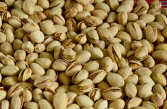 Pistachio close up ready to eat Stock Image