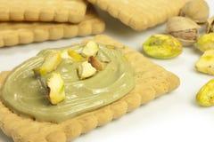 Pistachio cream Stock Images