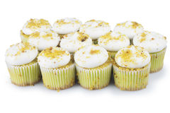 Pistachio Cupcakes Royalty Free Stock Image