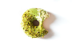 Pistachio donut Royalty Free Stock Photography