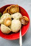 Pistachio ice cream Royalty Free Stock Photo