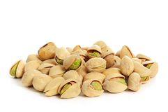 Pistachio isolated Stock Photos
