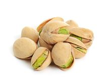 Pistachio isolated Stock Images