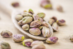 Pistachio Kernels Stock Photos
