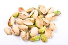 pistachio kilka orzeszków Obraz Royalty Free