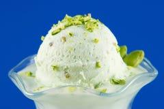 pistachio kremy lodowej Obrazy Stock