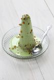 Pistachio kulfi, indian ice cream Royalty Free Stock Photography