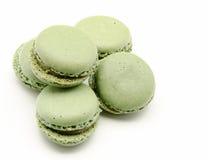 Pistachio macarons Royalty Free Stock Photo