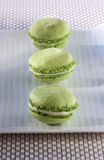 Pistachio macaroons Royalty Free Stock Photo
