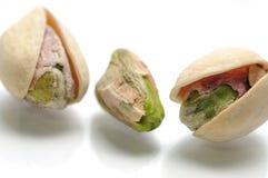 Pistachio macro fotografia de stock