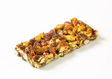 Pistachio nut bar Stock Photo