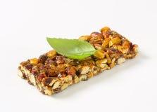 Pistachio nut bar Stock Photo