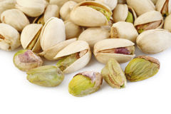 Pistachio nut isolated on white background Royalty Free Stock Photo