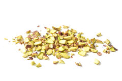Pistachio nut roughly chopped Royalty Free Stock Photo