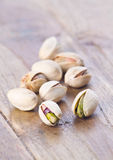 Pistachio nut Stock Photo